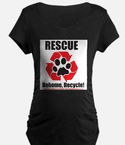 Rescue Recycle Maternity T-Shirt