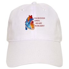 I Survived Open Heart Surgery Baseball Cap