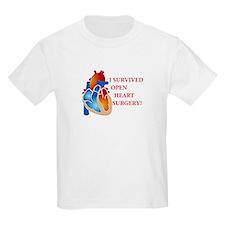 I Survived Open Heart Surgery Kids T-Shirt