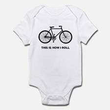 This Is How I Roll Bicycle Onesie