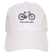 This Is How I Roll Bicycle Baseball Cap