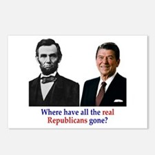 Real Republicans Postcards (Package of 8)