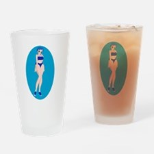 Ae Sook-Bathing Suit Drinking Glass