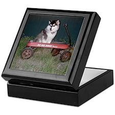 Funny Jindo Keepsake Box