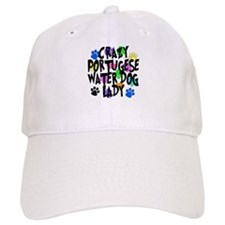 Crazy Portugese Water Dog Lady Baseball Cap