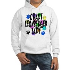 Crazy Leonberger Lady Jumper Hoody