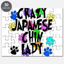 Crazy Japanese Chin Lady Puzzle