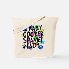 Crazy Akita Lady Tote Bag