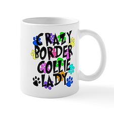 Crazy Border Collie Lady Mug