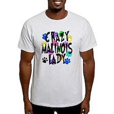 Crazy Malinois Lady T-Shirt