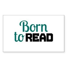 Born to Read Decal