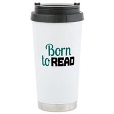 Born to Read Travel Mug