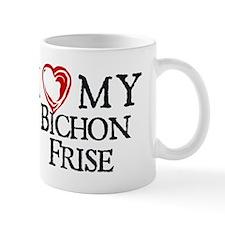I Heart My Bichon Frise Mug