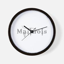 Belgian Malinois Wall Clock