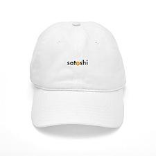 Satoshi Orange Baseball Baseball Cap