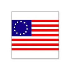 Betsy Ross Flag Rectangle Sticker