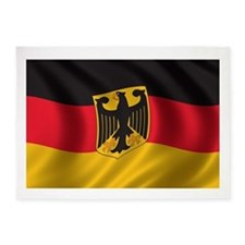 Flag of Germany 5'x7'Area Rug