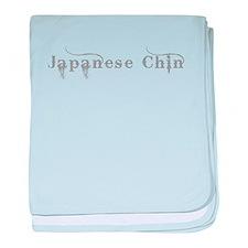 Japanese Chin baby blanket