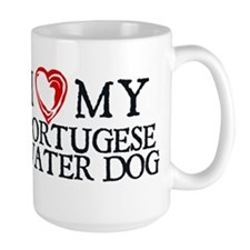 I Heart My Portugese Water Dog Mug