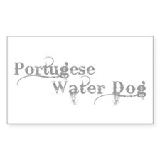 Portugese Water Dog Decal