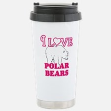 I Love Polar Bears Mugs