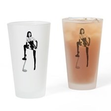 THE Dominatrix Drinking Glass