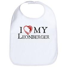 I Heart My Leonberger Bib