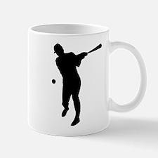 Baseball Batter Silhouette Mug