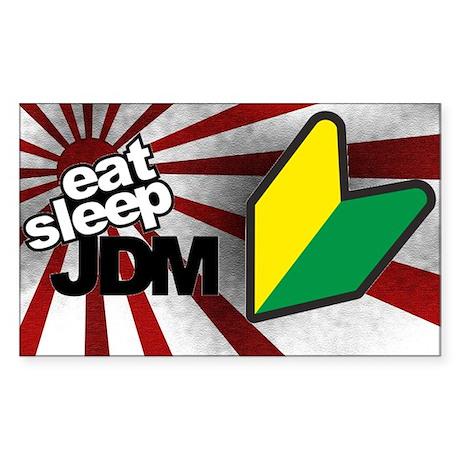 Eat Sleep JDM Sticker