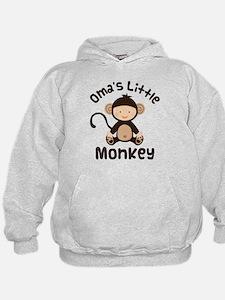 Oma Grandma Monkey Hoodie