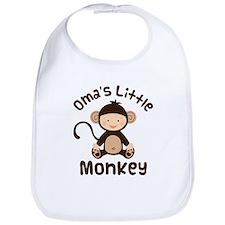 Oma Grandma Monkey Bib