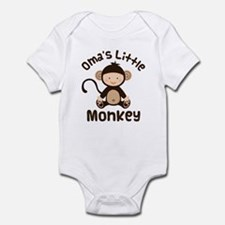 Oma Grandma Monkey Infant Bodysuit