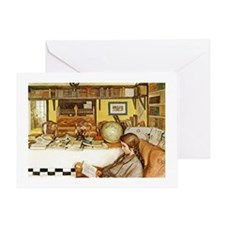 The Reading Room Greeting Card