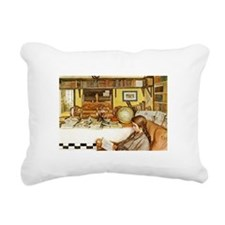 The Reading Room Rectangular Canvas Pillow