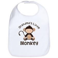 Grandma Grandchild Monkey Bib