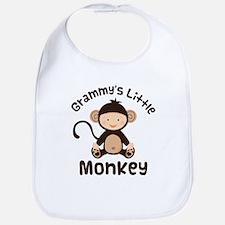 Grammy Grandchild Monkey Bib