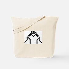 Grapple Silhouette Tote Bag