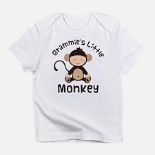 Grammie Grandchild Monkey Infant T-Shirt