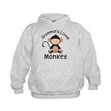 Grammie Grandchild Monkey Hoodie