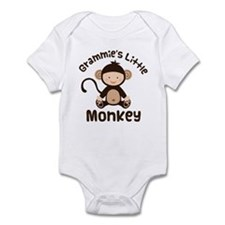 Grammie Grandchild Monkey Infant Bodysuit