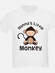 Nonna Grandchild Monkey T-Shirt