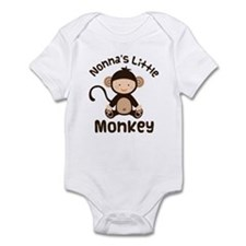 Nonna Grandchild Monkey Infant Bodysuit