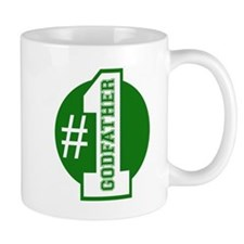 Number 1 Godfather (Green) Small Mug