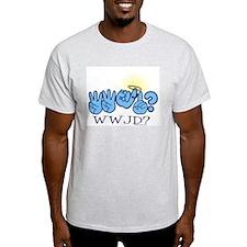 WWJD? Ash Grey T-Shirt