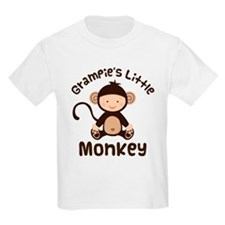 Grampie Grandchild Monkey T-Shirt