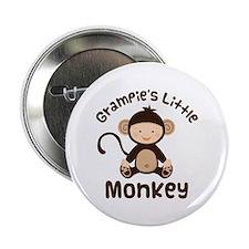 """Grampie Grandchild Monkey 2.25"""" Button"""