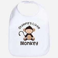 Grampie Grandchild Monkey Bib