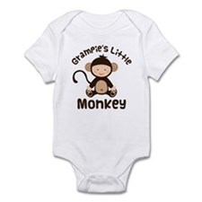 Grampie Grandchild Monkey Infant Bodysuit