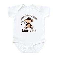 Grampie Grandchild Monkey Onesie