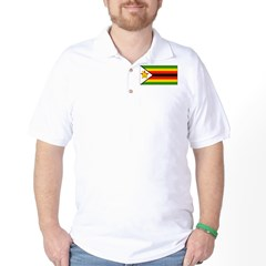 Zimbabwe Blank Flag T-Shirt